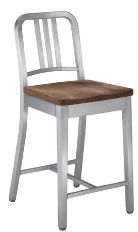 1104 NAVY COUNTER STOOL
