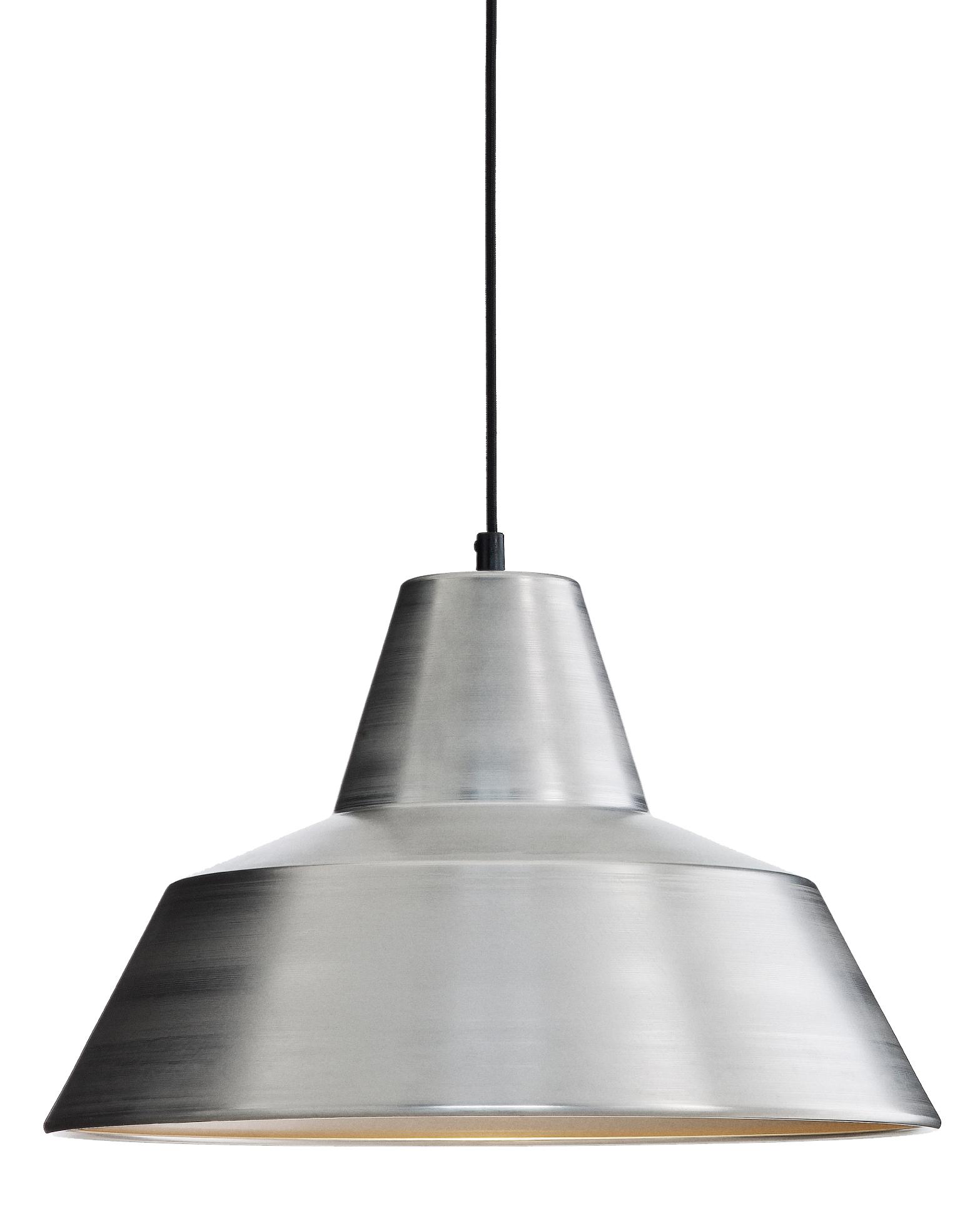 The work shop lamp アルミニウム ホワイトバック