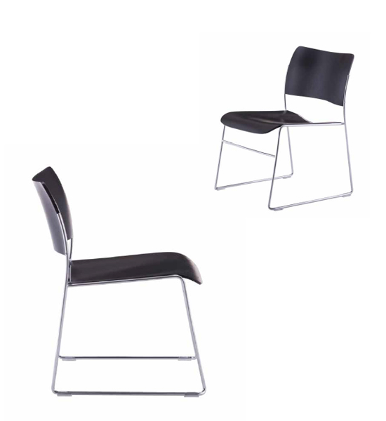 40/4 lounge chair ホワイトバック