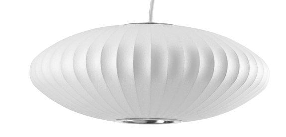Bubble Lamp Saucer Lamp ホワイトバック