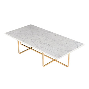 NINETY CENTER TABLE BRASS